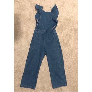 Jean Jump Suit